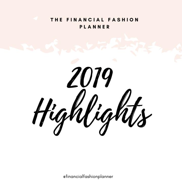 My 2019 Highlights
