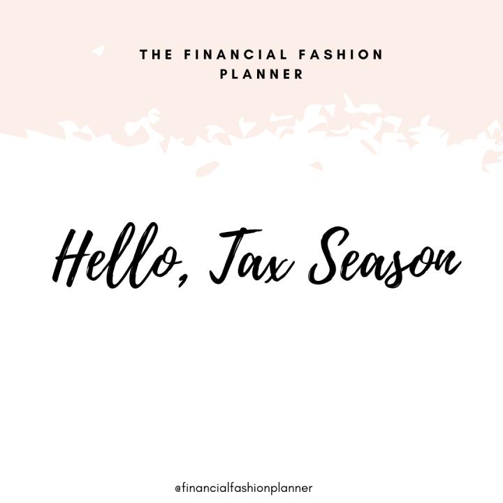 Hello Tax Season