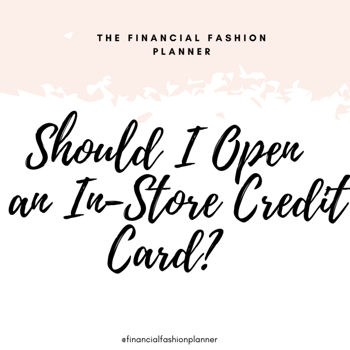 Should I Open an In-Store CreditCard?